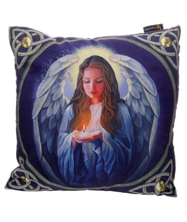 Funda para cojín Angel Candle