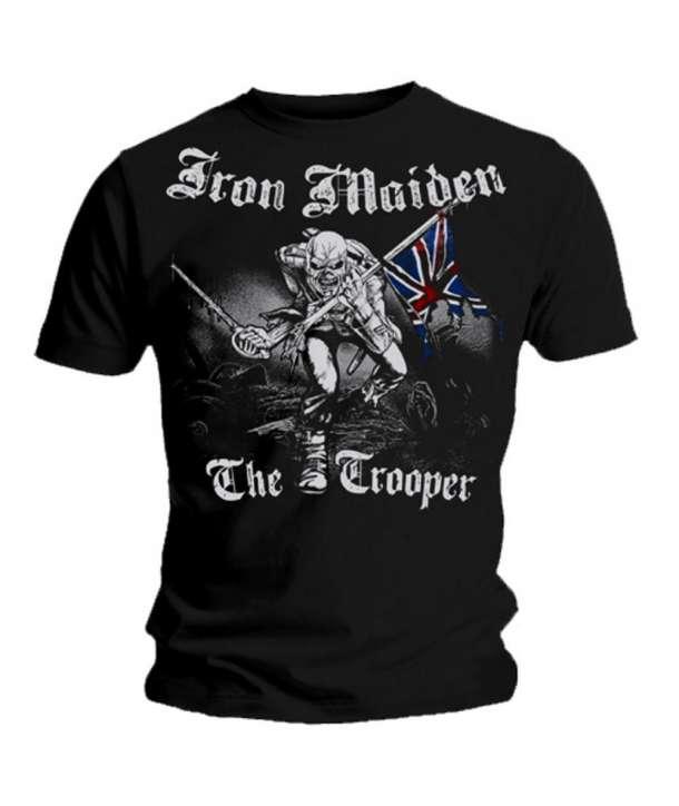 Camiseta IRON MAIDEN - The Trooper Grey Full