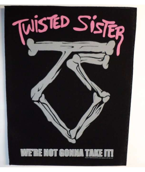 Parche para espalda TWISTED SISTER - We're Not Gonna Take It