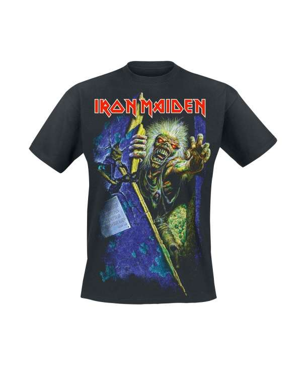 Camiseta IRON MAIDEN - No Prayer For The Dying