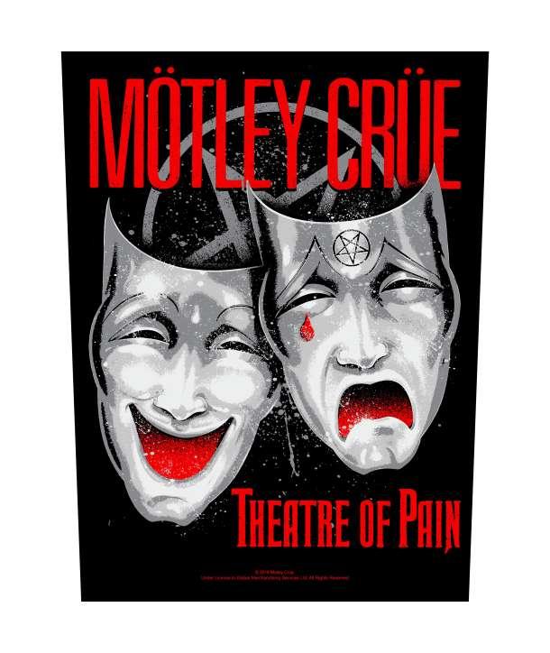 Parche para espalda espaldera MOTLEY CRUE - Theatre Of Pain