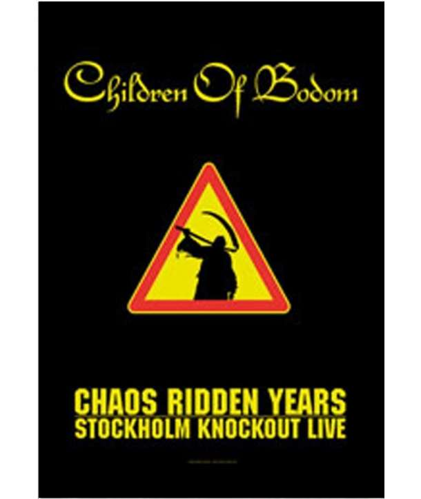 Bandera CHILDREN OF BODOM - Chaos Ridden Years