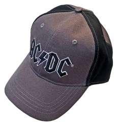 Gorra ACDC - Logo Gris Negro