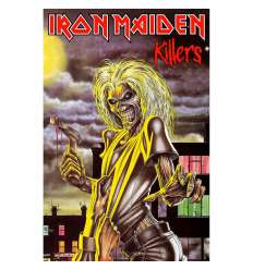 Bandera Poster Textil IRON MAIDEN - Killers