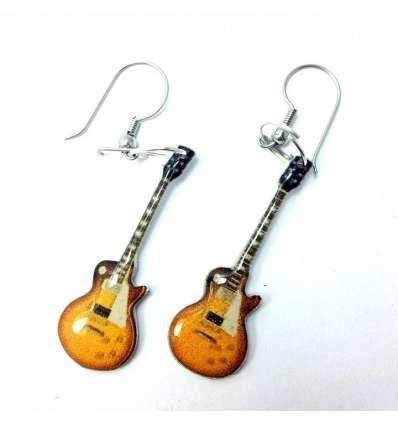Pendientes Guitarra Led Zeppelin (par)