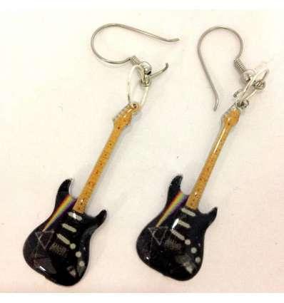 Pendientes Guitarra Pink Floyd (par)