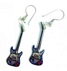 Pendientes Guitarra Iron Maiden (par)