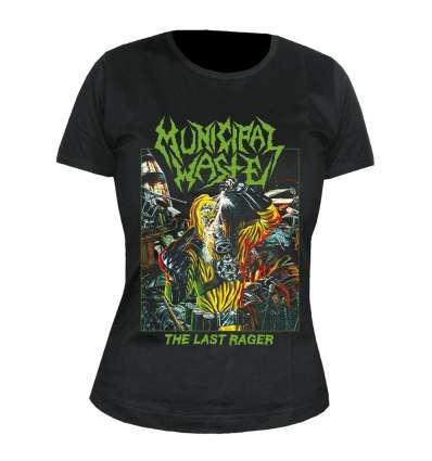Camiseta para chica MUNICIPAL WASTE - The Last Rager