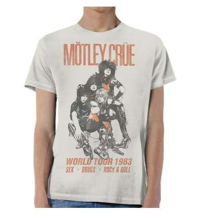 Camiseta MOTLEY CRUE - World Tour 1983