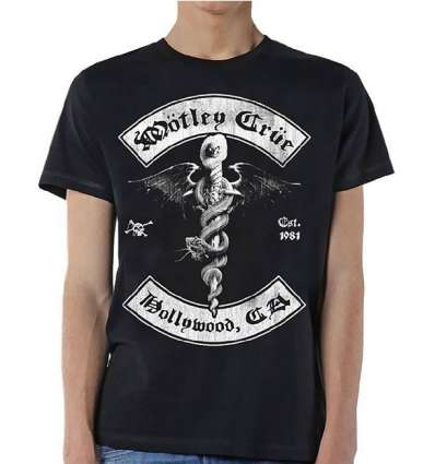 Camiseta MOTLEY CRUE - Feelgood Hollywood