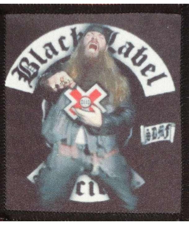 Parche BLACK LABEL SOCIETY - Zakk