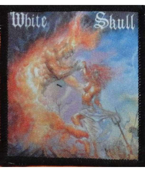 Parche WHITE SKULL - I Wont Burn Alone