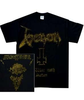 Camiseta VENOM - At War With Satan