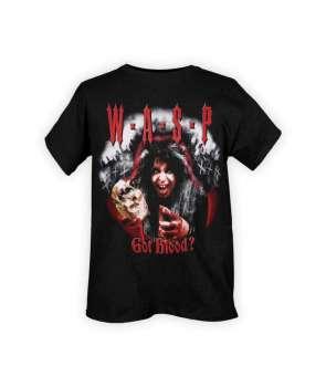 Camiseta WASP - Got Blood?