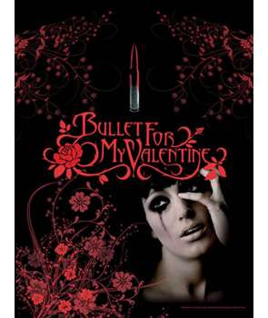 Bandera BULLET FOR MY VALENTINE - Tears Don't Fall