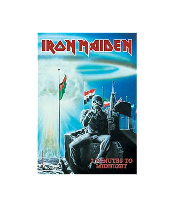 Bandera IRON MAIDEN - 2 Minutes To Midnight