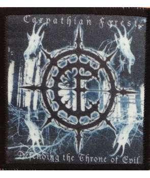 Parche CARPATHIAN FOREST - Defending The Throne Of Evil