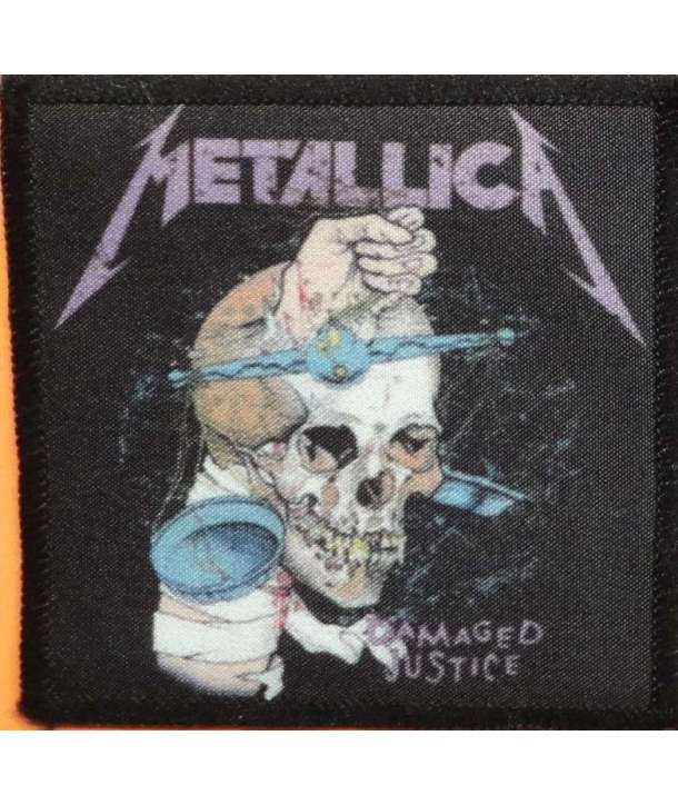 Parche METALLICA - Damaged Justice