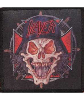 Parche SLAYER - Iron Cross Skull
