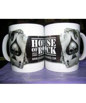 Taza HOUSE OF ROCK