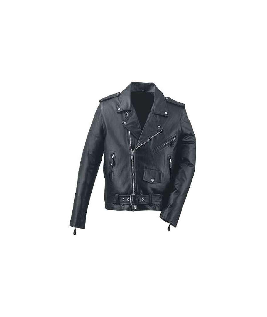 marcas reconocidas barato para la venta estilos de moda Chaqueta chupa cruzada de cuero SUPER OFERTA - House of Rock