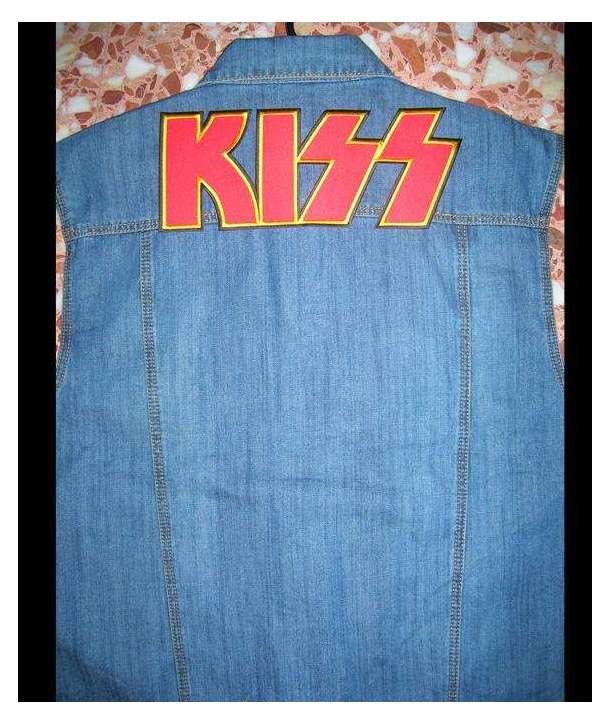 Parche Gigante KISS - Logo Bordado
