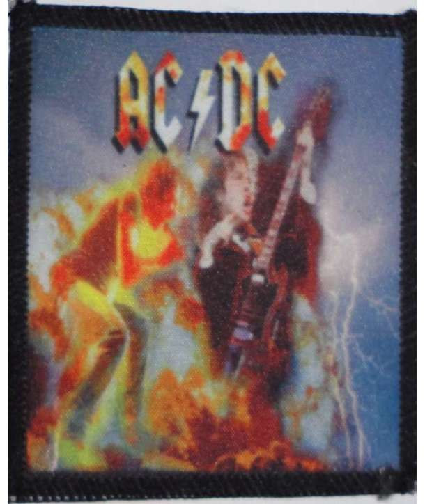 Parche ACDC - Angus Brian Live