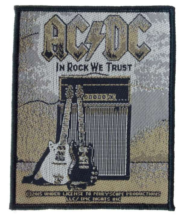 Parche ACDC - In Rock We Trust