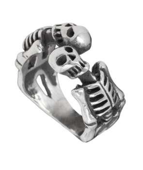 Anillo Esqueletos Estaño