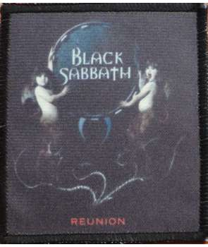 Parche BLACK SABBATH - Reunion