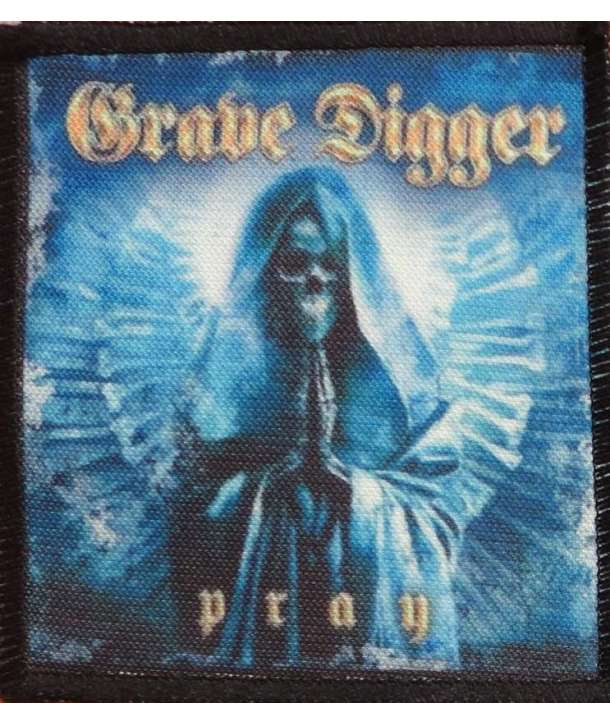 Parche GRAVE DIGGER - Pray
