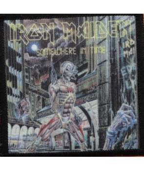 Parche IRON MAIDEN - Somewhere In Time