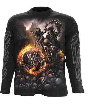 Camiseta SPIRAL WHEELS OF FIRE Manga Larga