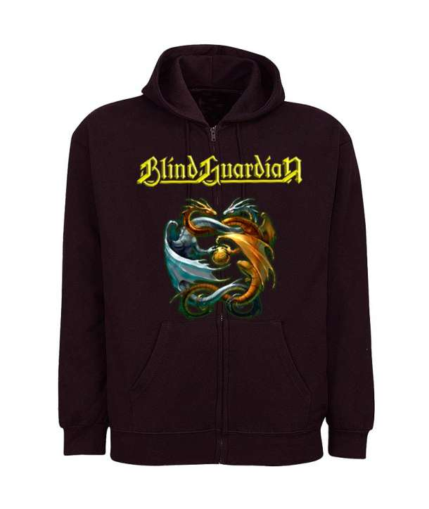 Sudadera BLIND GUARDIAN - Dragons Cremallera