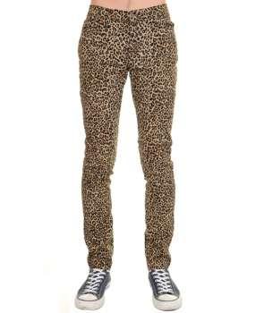 Pantalón Elástico Leopardo Regular Fit