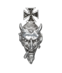 Colgante Joker Iron Cross Plata