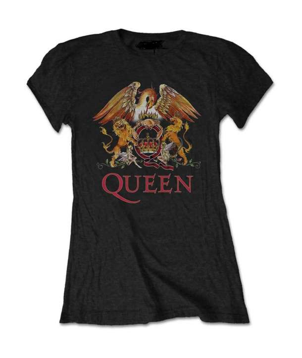 Camiseta para chica QUEEN - Logo Color