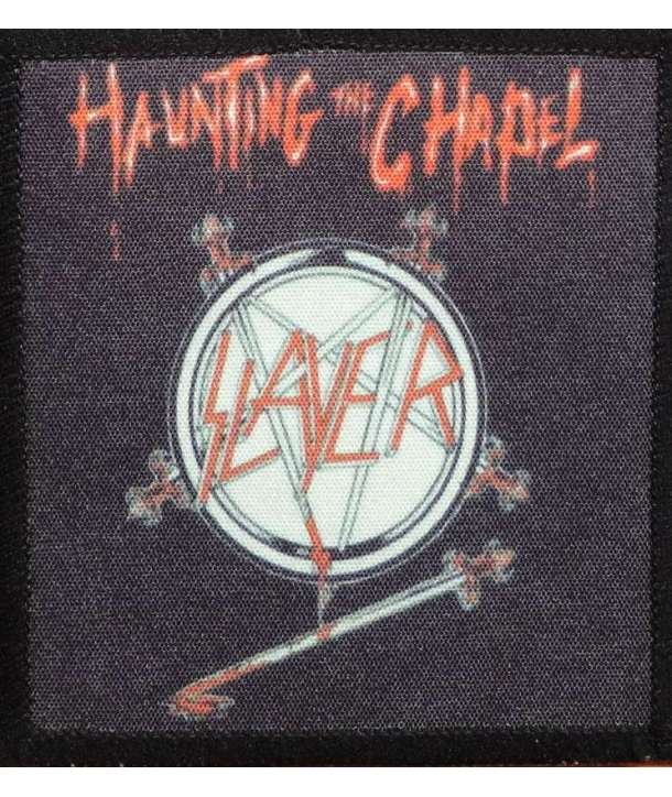 Parche SLAYER - Haunting the Chapel