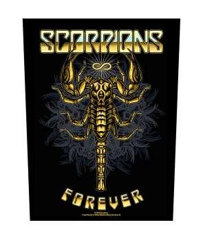 Parche para espalda espaldera SCORPIONS - Forever