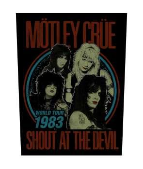 Parche para espalda espaldera MOTLEY CRUE - Shout At The Devil 1983 Tour