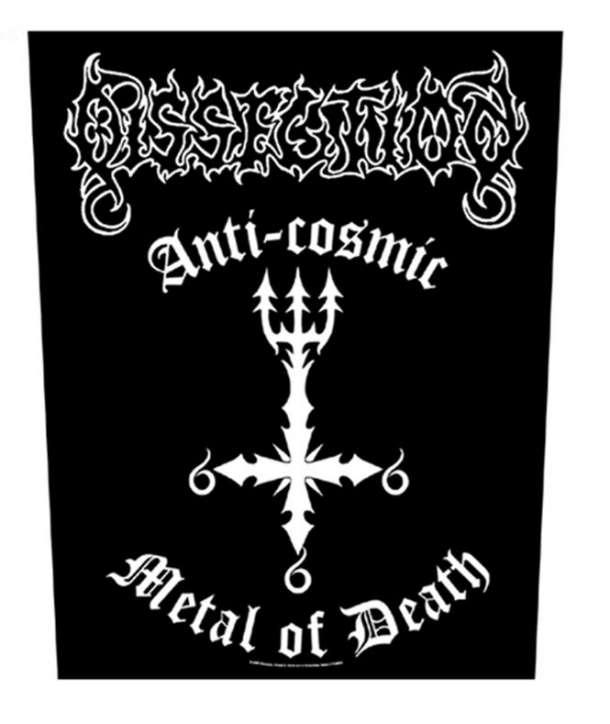 Parche para espalda DISSECTION -Anti-Cosmic Metal Of Death