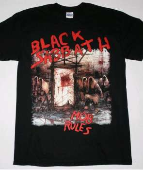 Camiseta BLACK SABBATH - Mob Rules