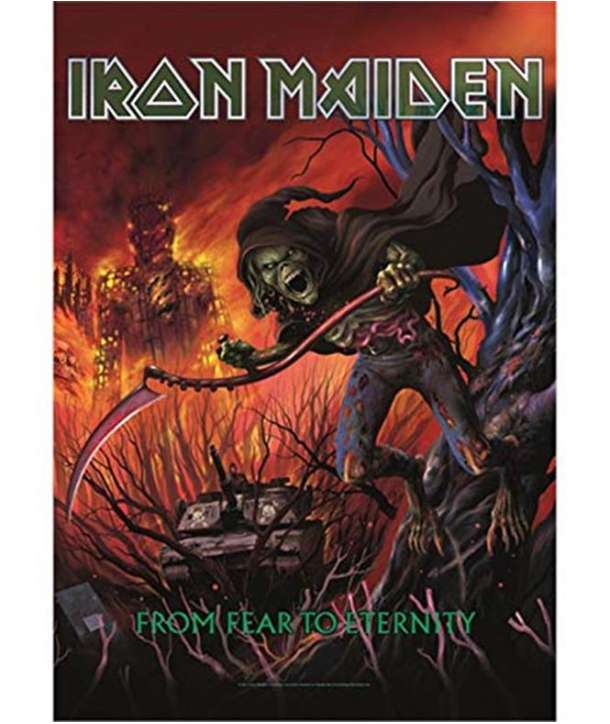 Bandera IRON MAIDEN - From Fear To Eternity