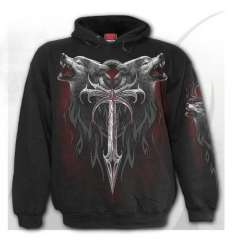 Sudadera LEGEND OF THE WOLVES Spiral