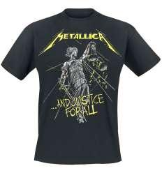 Camiseta METALLICA - And Justice Tracks