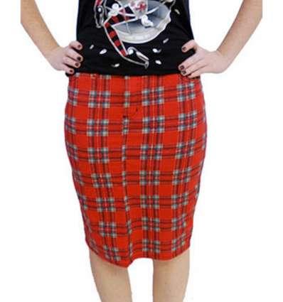 Falda de Tubo Escocesa