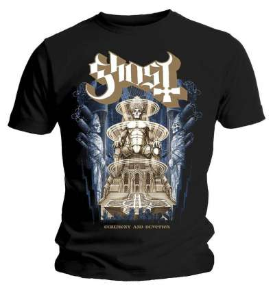Camiseta GHOST - Ceremony And Devotion