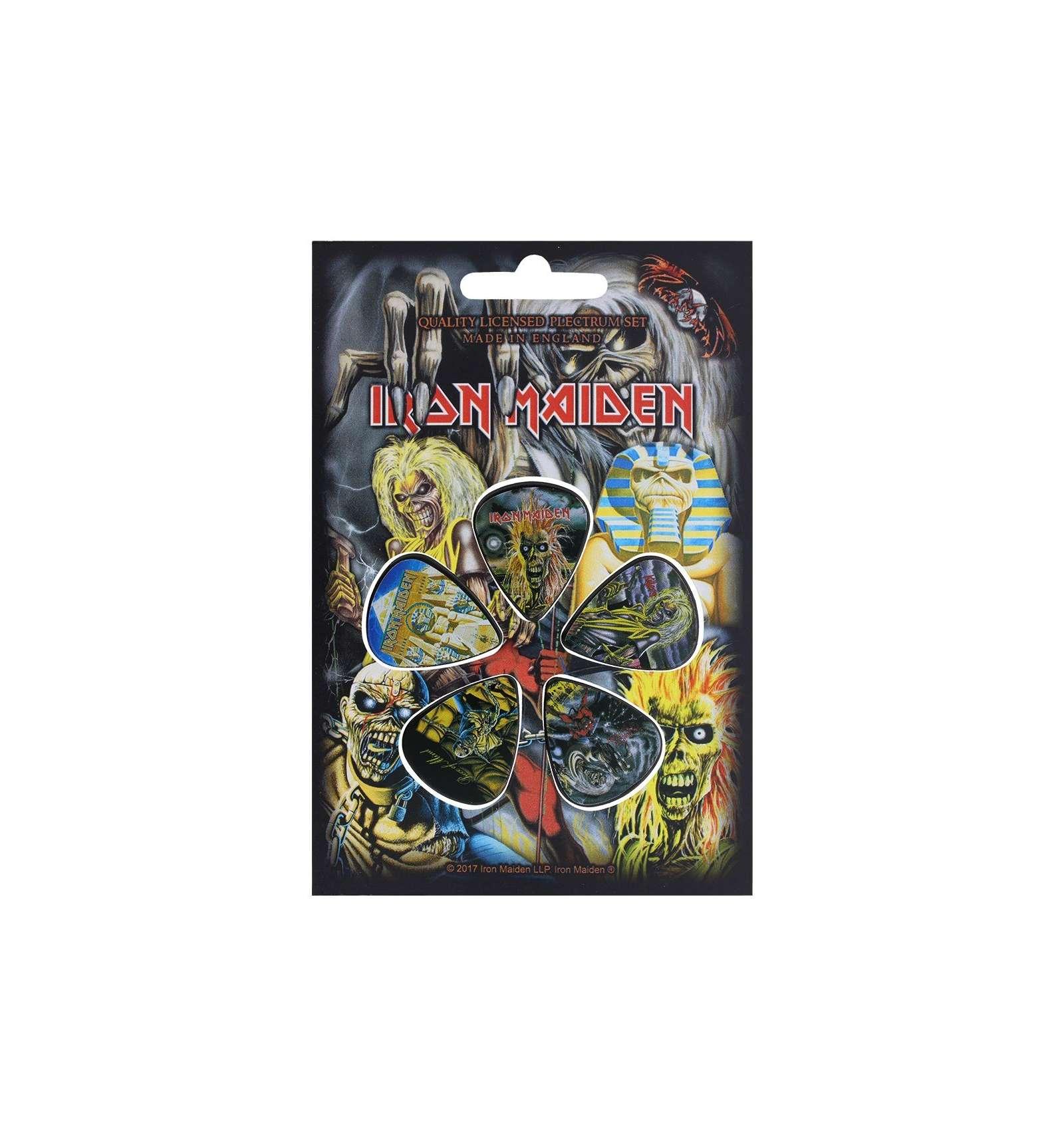 Iron Maiden Later Albums P/úas de guitarra oficiales