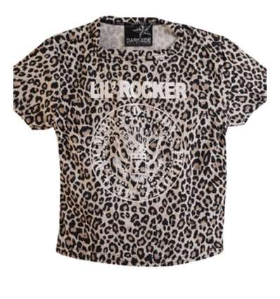Camiseta niño/a Lil Rocker Leopardo