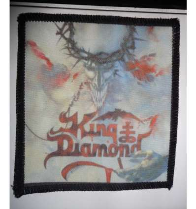 Parche KING DIAMOND - House Of God